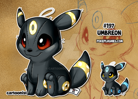 #197 Umbreon by cartoonist