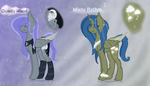 GridAdopts for Rejectedxstar and BlackTempestBrony by Velvet-Harmonys-Art