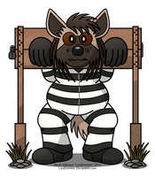 Barry in the Stocks by LordDominic