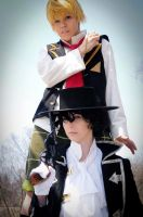 PH - Master and Servant by SailorAnime