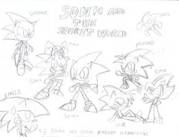 Sonic And The Secret World by Sonic-chaos