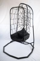 FNB Hanging Chair and Stand Cobweb Design by FNB-SC