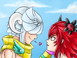 Gaia Online: Queen Yandere and Wimex Seven by lady-yuna7