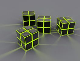 Cubes of steel by tuner7000