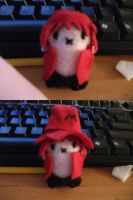 Majorra plushie by Nummeh-Marble