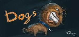 DOGS by DClayne