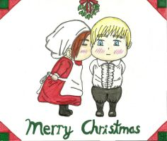 (APH) A Chibi Christmas by MidnightCatK