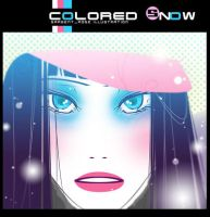 colored snow by lovepapier
