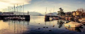 Another beautiful day - Laveno, Italy by siddhartha19