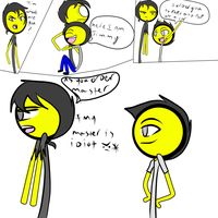 jim and Jimmy  by Demonic-stickfigures