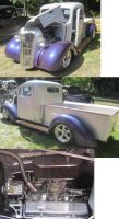37 Chevy Pu by zypherion