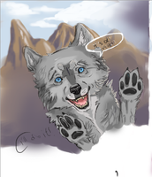 wolf by SunsetDragonfly