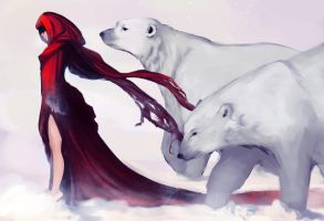 Creatures of Snow by Newsha-Ghasemi