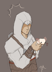 137 Altair and the Axolotl by BlastedKing