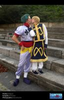 Hisoka and Kurapika Cosplay by Evil-Siren