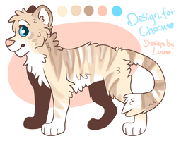 chocukat tiger design by louberri