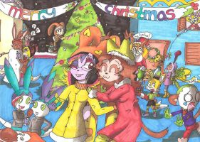 xmas picture for my college contest by sheezy93