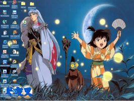 Sesshomaru's group by YokaiJessFan