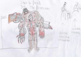L4D Boss: The Boogeyman by Yohan-Gas-Mask