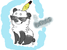 Contest Prize for QiXuiArt: Lil Pan-Pan by AutumLeavesofFall
