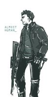 Almost Human - John Kennex by tedizack