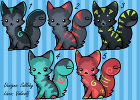 Cat Batch - Closed by Solloby