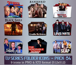 TV Series - Icon Pack 54 by apollojr