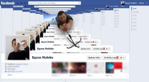 my facebook timeline cover by XoN1