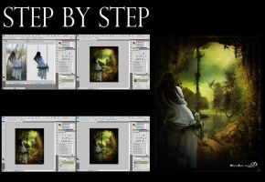 Step by step 6 by mendha
