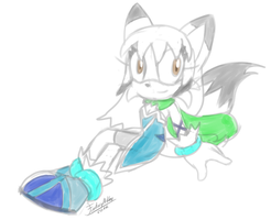 :Commission: Glaceon-mew by FantasyAshley