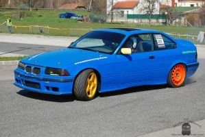 BMW M3 - Campus Cup in Gyor, 2013 by morpheus880223