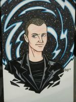NYCC Commission - Doctor Who:Christopher Eccleston by RichBernatovech