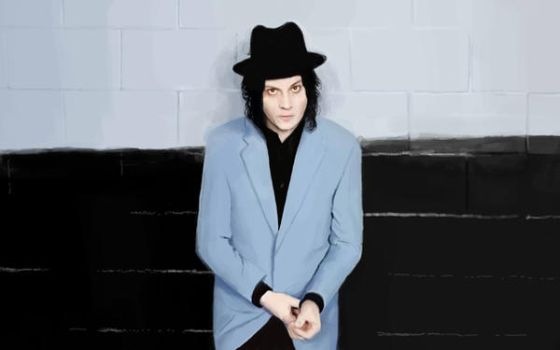 Jack White| digital painting art print by pieing