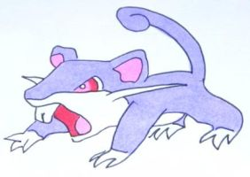 Rattata by SailorDerp