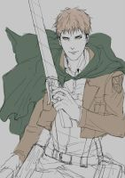 [doodles] Jean Kirstein by rainbuni