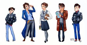 Torchwood...genderbent by Mad-Hattie