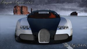 Bugatti Veyron Final Render by ragingpixels