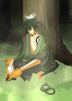 Peaceful Hebi Sage by xYorutenshi