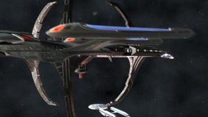 DS9 Flyby for Turbulence by archangel72367