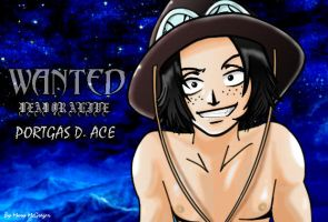 One Piece Ace by Mary-McGregor