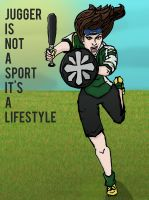 Jugger is not a sport by sarahbevan11