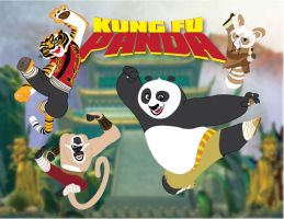 Kung Fu Panda by momarkey