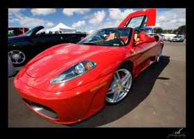 Blistering F430 by GhostInKernel32