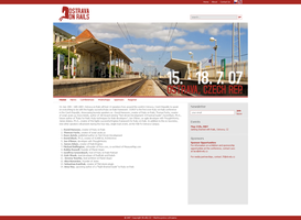 Ostrava on Rails website by plechi