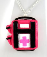 Hot Pink L4D Health Pack by NeverlandJewelry