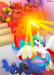 Comm: MLP vs Mario - Throne Room Throwdown by BroDogz