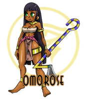 Skullgirls: Omorose by Pharaoh009