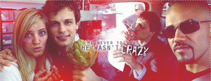 Matthew Gray Gubler Crazy by ManonGG