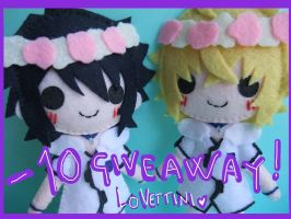 Giveaway Mika and Yu by LOVEttini
