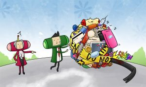 Gyakuten Katamari? by LemonCoffee